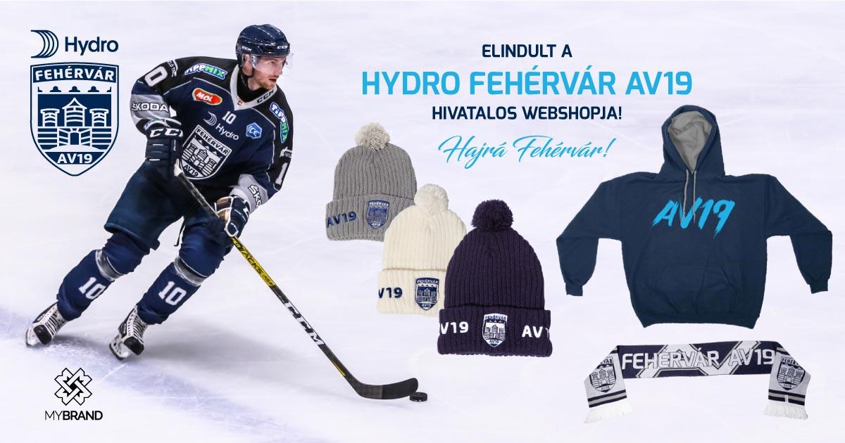 Elindult a Hydro Fehérvár AV19 hivatalos webshopja